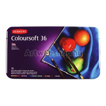 Derwent Coloursoft Ceruza - 36 darabos készlet