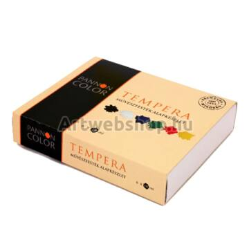 Pannoncolor Tempera - 6 darabos készlet