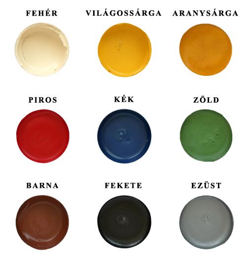 Jovi Arcfesték színskála